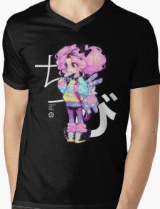 chibi Mens V-Neck T-Shirt