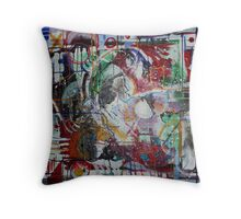Enigmatic (Acrylics)- Throw Pillow