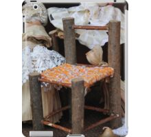 miniature chair handmade iPad Case/Skin