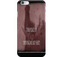 "'Orlock, the Vampire #2' (as killer vampire bat),  FROM THE FILM "" Nosferatu vs. Father Pipecock & Sister Funk (2014) iPhone Case/Skin"