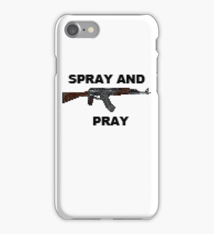 SPRAY AND PRAY iPhone Case/Skin