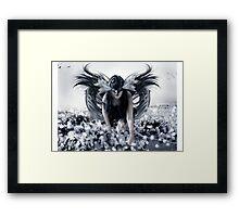 The Dark Faerie Framed Print