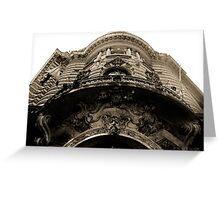 Building Facade Buenos Aries Greeting Card