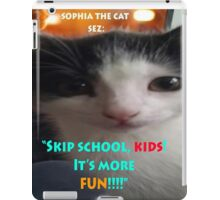 Sophia The Cat # 4 [Tex's Owner] iPad Case/Skin