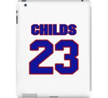 National football player Clarence Childs jersey 23 iPad Case/Skin