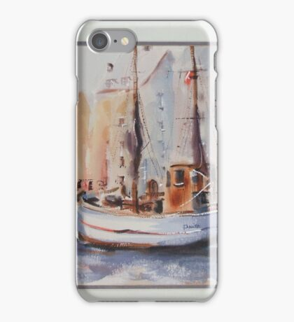BOATS AT REST W/C iPhone Case/Skin