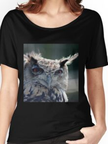 Eagle Owl Women's Relaxed Fit T-Shirt