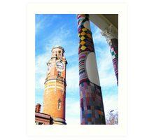 Cosy Columns 4 Art Print