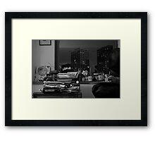 DR. KNOW Framed Print