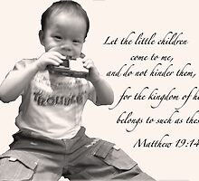 Matthew 19:14 by knightingail