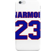 National football player Mike Harmon jersey 23 iPhone Case/Skin
