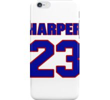 National football player Jamie Harper jersey 23 iPhone Case/Skin