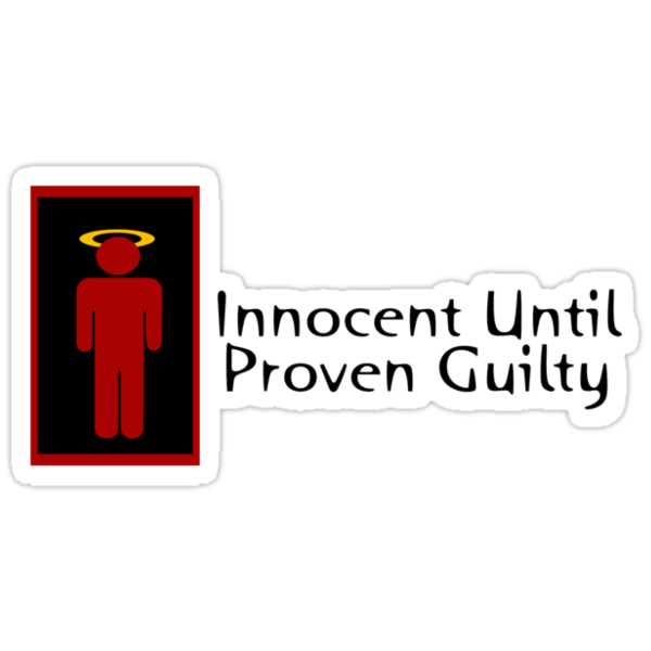 Innocent Until Proven Guilty Teenage Boy by Ryan Houston