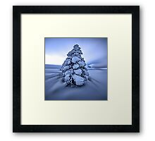 And the wind blows Framed Print