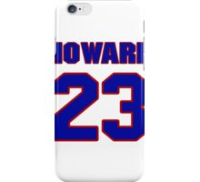 National football player Bob Howard jersey 23 iPhone Case/Skin