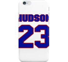 National football player Bob Hudson jersey 23 iPhone Case/Skin