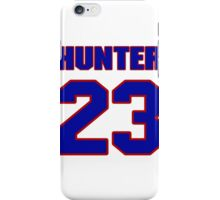 National football player Billy Hunter jersey 23 iPhone Case/Skin