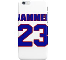 National football player Quentin Jammer jersey 23 iPhone Case/Skin