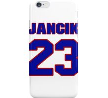 National football player Bobby Jancik jersey 23 iPhone Case/Skin