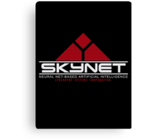 Skynet - Neural Net-Based Artificial Intelligence Canvas Print