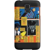 Bird of Steel Comix – # 7 of 8   - (Red Bubble POP-ART COLLECTION SERIES) Samsung Galaxy Case/Skin