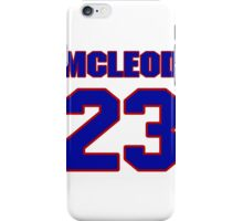 National football player Rodney McLeod jersey 23 iPhone Case/Skin