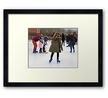 Penguin Power Framed Print