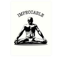 Yoga Mastery Art Print