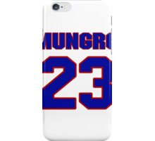 National football player James Mungro jersey 23 iPhone Case/Skin