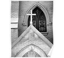 Church Cross Poster
