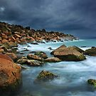 Stormy Seas by Annette Blattman
