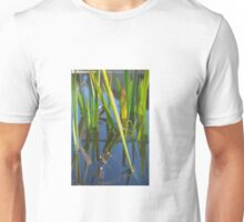 Reflections in the pond Unisex T-Shirt