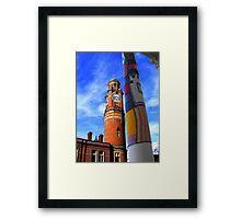 Cosy Columns 5 Framed Print