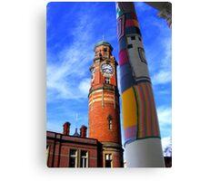 Cosy Columns 5 Canvas Print