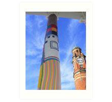Cosy Columns 7 Art Print