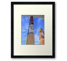 Cosy Columns 7 Framed Print