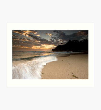 Turimetta Beach Sunrise, Narabeen Art Print