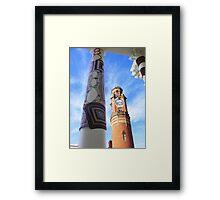 Cosy Columns 8 Framed Print
