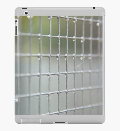 Water on wire  iPad Case/Skin