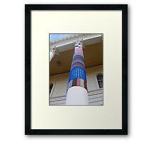 Cosy Columns 17 Framed Print