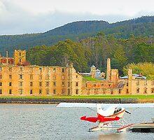 Memories of New And Old - Port Arthur Historic Site, Tasmania Australia by Philip Johnson