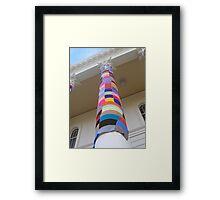 Cosy Columns 16 Framed Print