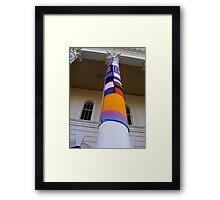 Cosy Columns 15 Framed Print