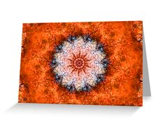 Orange Trip Greeting Card