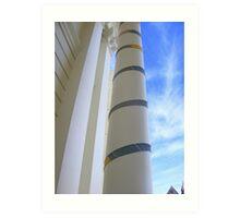 Cosy Columns 12 Art Print