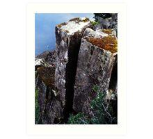 Cataract Gorge Rocks 1G Art Print