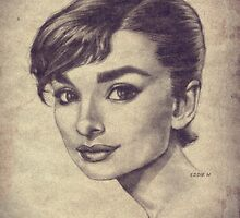 Audrey Face by EddieHolly