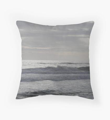 Atlantic Waves Throw Pillow