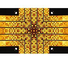 The Golden Cross Photographic Print