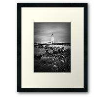 Port Fairy Lighthouse, Victoria, Aust Framed Print